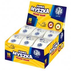 ASTRA Mouse, Ergonomická biela guma, 403118003