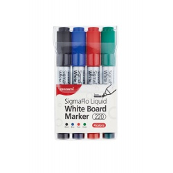 MONAMI® Sada popisovačov na biele tabule, SigmaFlo 220, 2mm, 20801525110