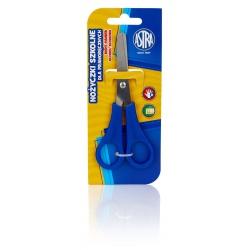 ASTRA Školské nožnice pre pravákov 13cm, blister, mix farieb, 407118001