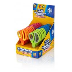 ASTRA Školské ergonomické nožnice pre pravákov 13cm, mix farieb, 407118006