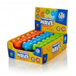 ASTRA Wave, Dvojité strúhadlo so zásobníkom, mix farieb, 404118001