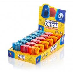 ASTRA Orion, Dvojité strúhadlo so zásobníkom, mix farieb, 404118003