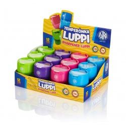 ASTRA Luppi, Dvojité strúhadlo so zásobníkom, mix farieb, 404118004