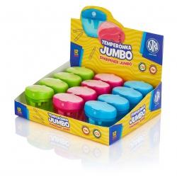 ASTRA Jumbo, Trojité strúhadlo so zásobníkom, mix farieb, 404118005