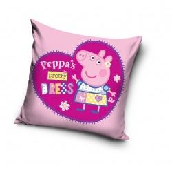 CARBOTEX Obliečka na vankúšik 40/40cm PEPPA PIG Pretty Dress, PP182036