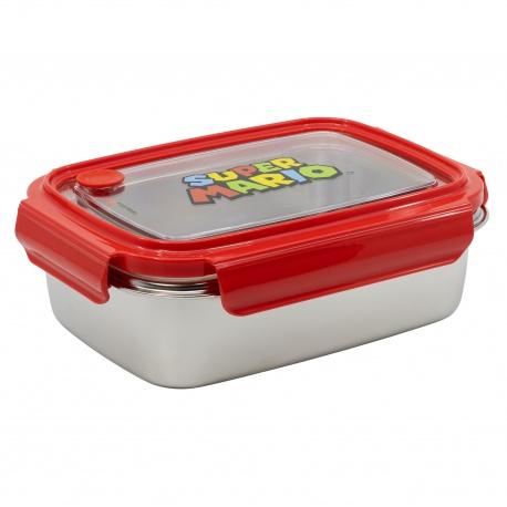 Nerezová dóza / krabička na jedlo SUPER MARIO Hermetico, 1020ml, 01360