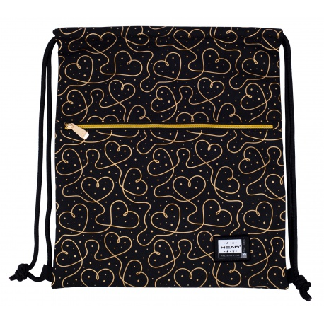 Luxusné vrecúško / taška na chrbát HEAD Golden Hearts, AD2, 507021328