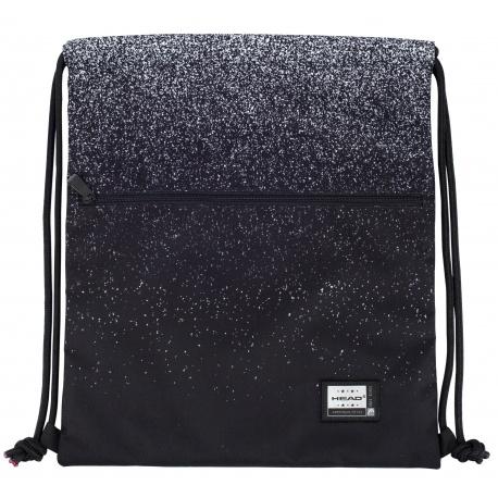 Luxusné vrecúško / taška na chrbát HEAD Black Dust, AD2, 507021319
