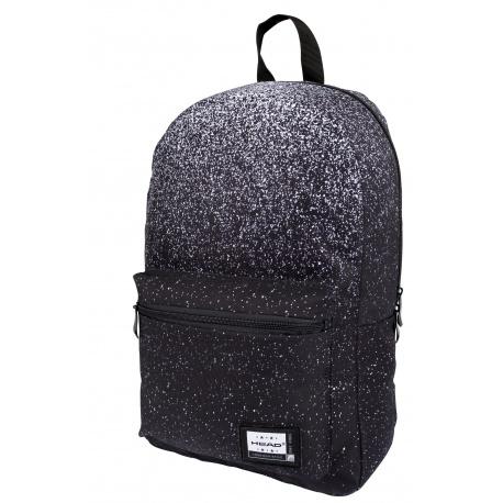 HEAD Jednokomorový športový / študentský batoh BLACK DUST, AB100, 502021119