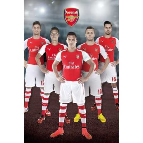 Plagát na stenu ARSENAL, Players, 61/91,5cm, SP1119 GB EYE ARS1928