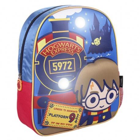 Detský svetielkujúci 3D batoh HARRY POTTER, 2100003446