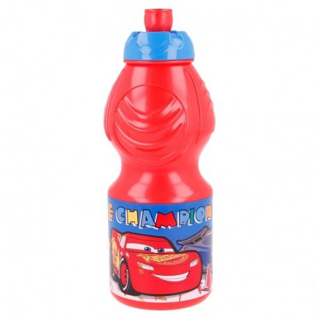 Plastová fľaša na pitie DISNEY CARS, 400ml, 13932