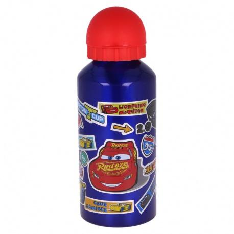 Hliníková fľaša na pitie DISNEY CARS Stickers, 400ml, 41234