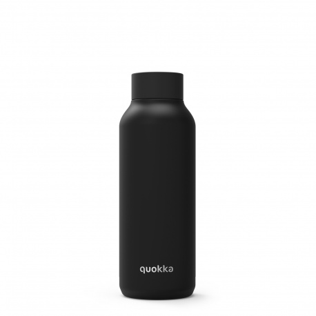 QUOKKA Nerezová fľaša / termoska JET BLACK 510ml, 11825