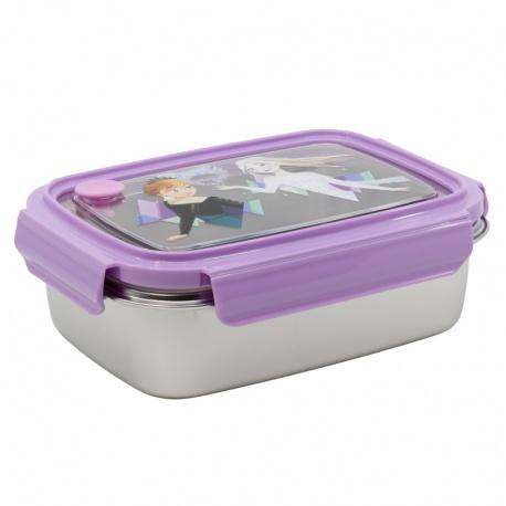 Nerezová dóza / krabička na jedlo DISNEY FROZEN Hermetico, 1020ml, 60467