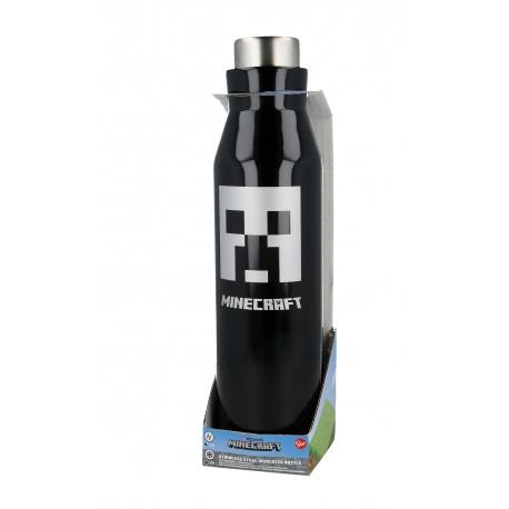 Nerezová fľaša / termoska MINECRAFT 580ml, 02181