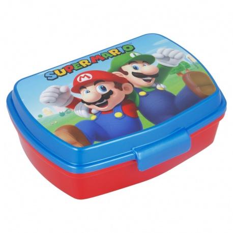 Plastový box na desiatu SUPER MARIO, 21474