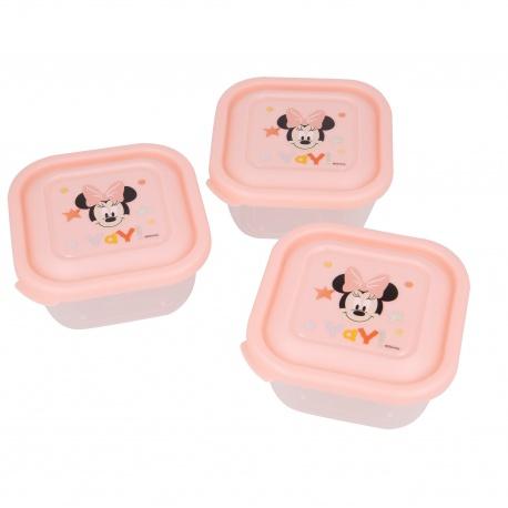 Plastová dóza / krabička na jedlo MINNIE MOUSE, 3ks, 13106