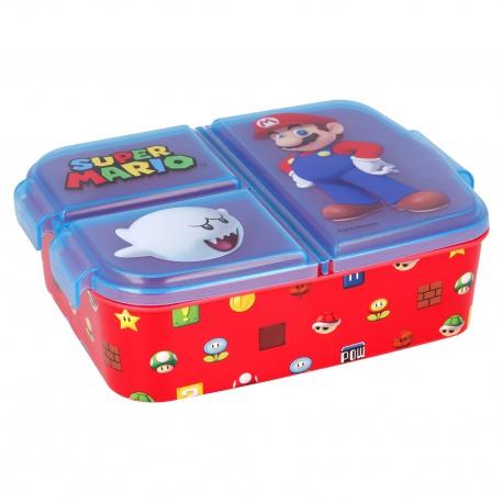 Delený plastový box na desiatu SUPER MARIO, 21420