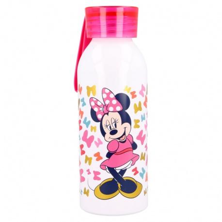 Hliníková fľaša so silikónovým pútkom MINNIE MOUSE, 510ml, 51124