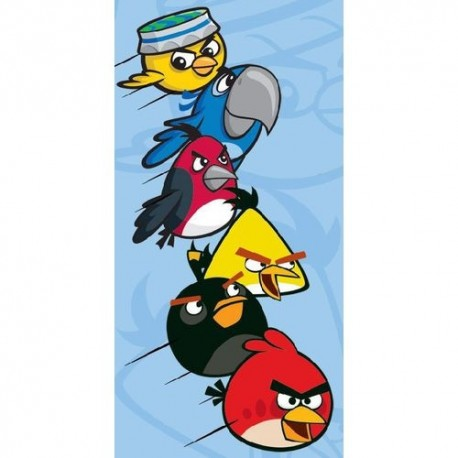 CARBOTEX Bavlnená osuška 70/140cm ANGRY BIRDS Blue CARBOTEX ANG2981