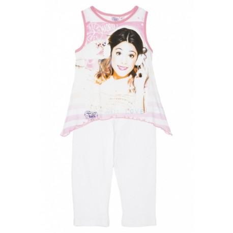 Letný set VIOLETTA tričko a legíny biele (OE1399),    Sun City® GROUP VIO0799a|6