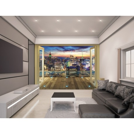 WALLTASTIC®  Fototapeta 243 x 304cm NEW YORK CITY WALLTASTIC® WAL2999