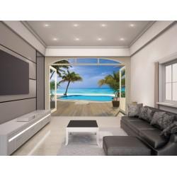 WALLTASTIC®  Fototapeta 243 x 304cm PARADISE BEACH