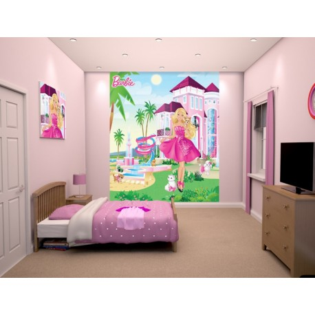 WALLTASTIC®  Fototapeta 203 x 243cm BARBIE WALLTASTIC® BAR0999