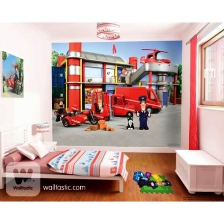 WALLTASTIC®  Fototapeta 243 x 304cm POSTMAN PAT WALLTASTIC® PAT1590
