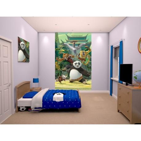 WALLTASTIC®  Fototapeta KUNG FU PANDA 150 x 240cm (43107) WALLTASTIC® WAL2983