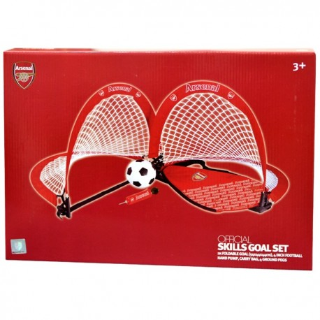 Mini futbal set / skladacie bránky ARSENAL FOREVER COLLECTIBLES ARS1887