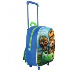 Detský 3D batoh na kolieskach DOBRÝ DINOSAURUS (7531)
