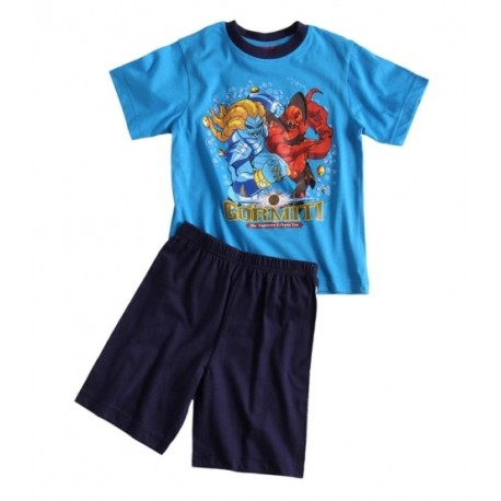 Chlapčenské krátke pyžamo GORMITI modré,    Sun City® GROUP GOR1040M|5