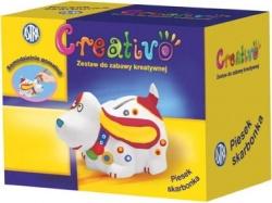 CREATIVO Pokladnička PSÍK ´Vymaľuj si sám´, 327112006