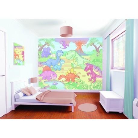 WALLTASTIC®  Fototapeta 243 x 304cm BABY DINOSAURY WALLTASTIC® NAT2598
