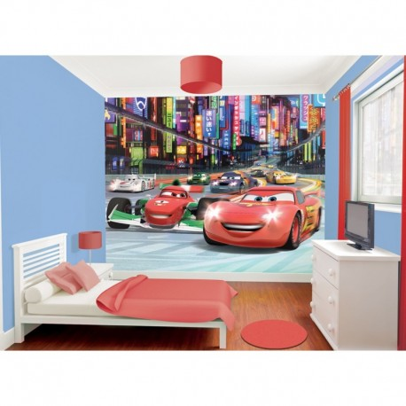 WALLTASTIC®  Fototapeta 243 x 304cm DISNEY CARS WALLTASTIC® CAR1968