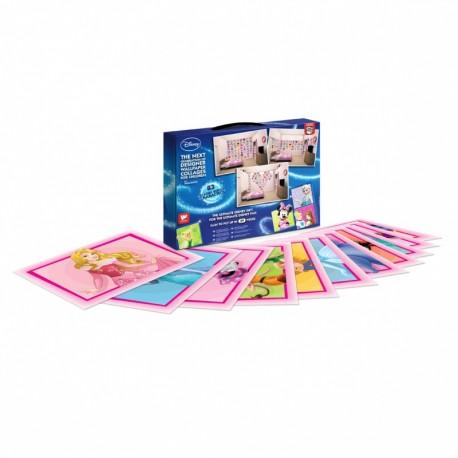 WALLTASTIC® Dekoračné samolepky DISNEY Koláž ružová 64ks WALLTASTIC® WAL0999