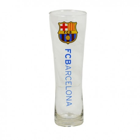 Vysoký pohár na pivo FC BARCELONA Pilsner Premium FOREVER COLLECTIBLES BRC1359