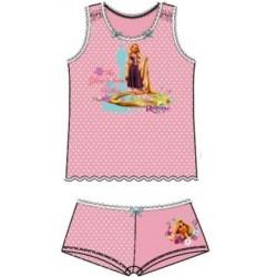 Bavlnená súprava spodného prádla RAPUNZEL, ružová, PERS3235