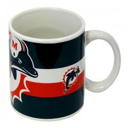 Keramický hrnček NFL Miami Dolphins, 325ml