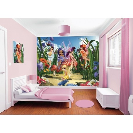 WALLTASTIC®  Fototapeta 243 x 304cm MAGICKÉ VÍLY WALLTASTIC® MAF0591