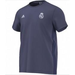 ADIDAS Pánske bavlnené tričko REAL MADRID Grey