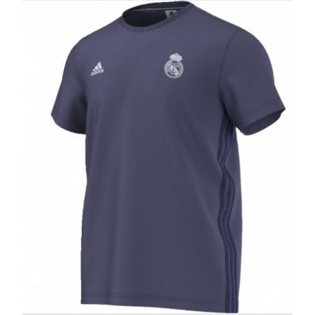 ADIDAS Pánske bavlnené tričko REAL MADRID Grey,    ADIDAS REA1003x|S