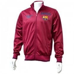 Pánska športová bunda na zips FC BARCELONA, SN5530