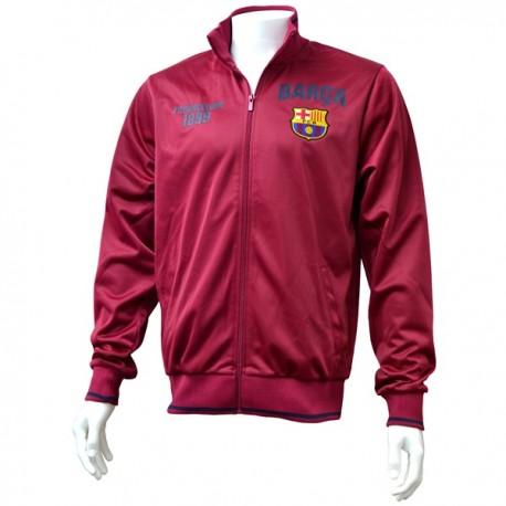 Pánska športová bunda na zips FC BARCELONA, SN5530 - S (small)