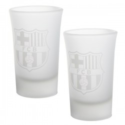 Poldecák 2ks FC BARCELONA Shot Frosted (1483)