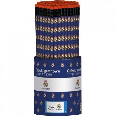 Obyčajná ceruzka HB s gumou REAL MADRID, stojan, 206015004 ASTRA REA1024x