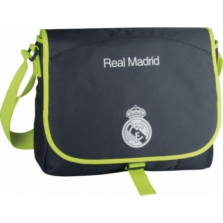 Taška cez rameno REAL MADRID Lime, RM-61 ASTRA REA1026x