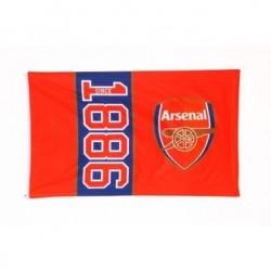 Klubová vlajka 152/91cm ARSENAL Since